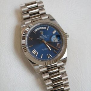 Rolex Day-Date Blue Face - Luxury dripstores