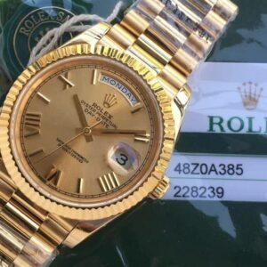 Rolex Day Date Full Gold Champagne dial- Luxury dripstores