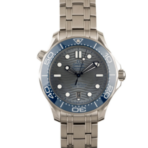 AAA Replica Omega Seamaster Professsional 300 Co-Axial master Chronograph Grey Blue - Luxury dripstores