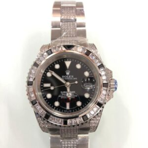 Rolex submariner 116610LN Black Dial Iced Bezel - Luxury dripstores