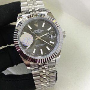 Rolex Datejust Grey Face - Luxury dripstores