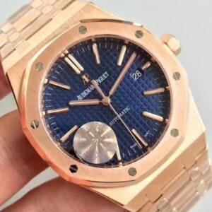 AUDEMARS PIGUET ROYAL OAK ROSE GOLD REPLICA AAA QUALITY- Luxury dripstores