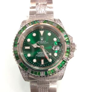Iced Out submariner hulk AAA replica