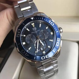 AAA Tag Heuer Aquaracer 300m Chronograph 1/10 Blue dial - Luxury dripstores