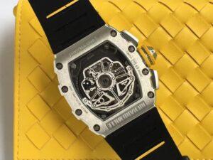 1:1 Richard Mille Rm11-03 Silver Replica