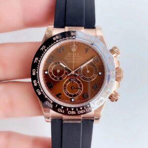 Rolex Daytona Oysterflex 116515LN Chocolate Dial AAA Replica - Luxury dripstores