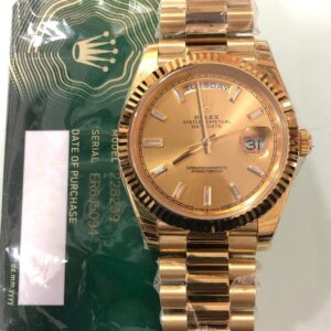 Rolex Day-Date Full Gold Iced Numerals - Luxury dripstores
