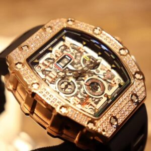 Iced Richard Mille RM11-03 Replica - Luxury dripstores